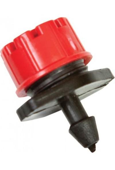 Tecnoplastik Debi Ayarlı Kırmızı Damlatıcı 100 Adet