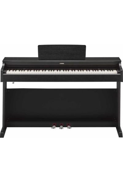 Yamaha YDP163B Dijital Piyano (Mat Siyah) (Tabure ve Kulaklık Hediyeli)