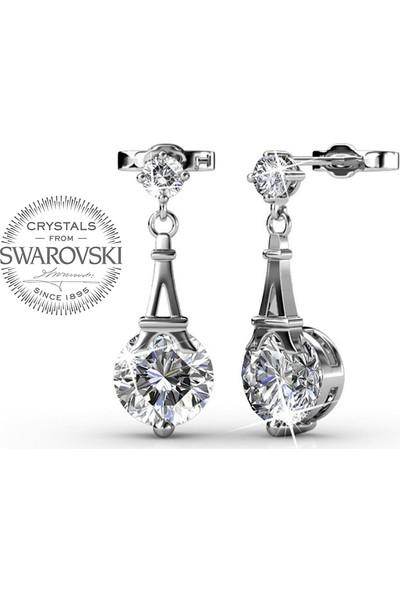 Monemel Swarovski® Taşlı Küpe E0295