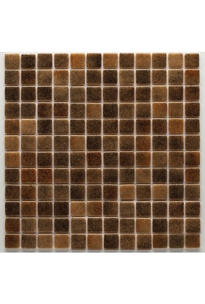 Mozaix Cam Mozaik R - 16 Rainbow Seri 25 x 25 mm File Montaj