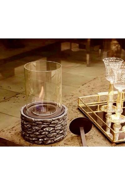 Poolline Fire Stone Bio Ethanol Spa Şöminesi