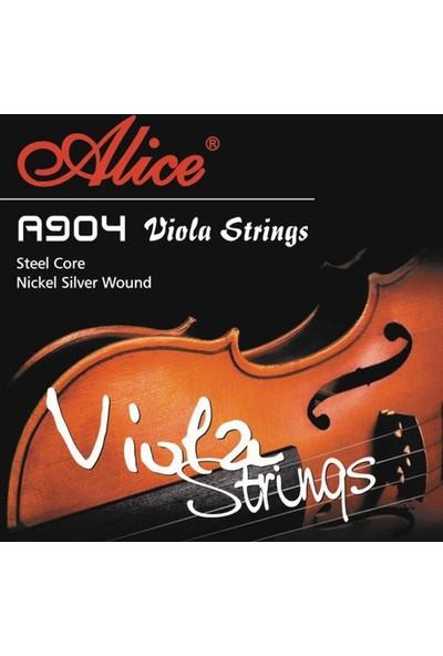 Alice A904 Viyola Teli Takımı