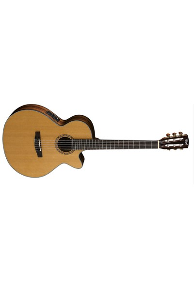 Cort Cec7-Nat Elektro Klasik Gitar