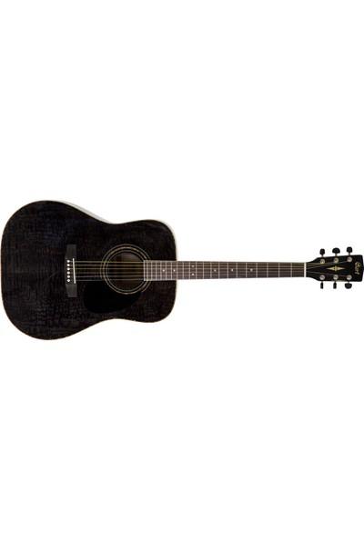 Cort Ad880Ab-Tbk Akustik Gitar Tranparan Siyah