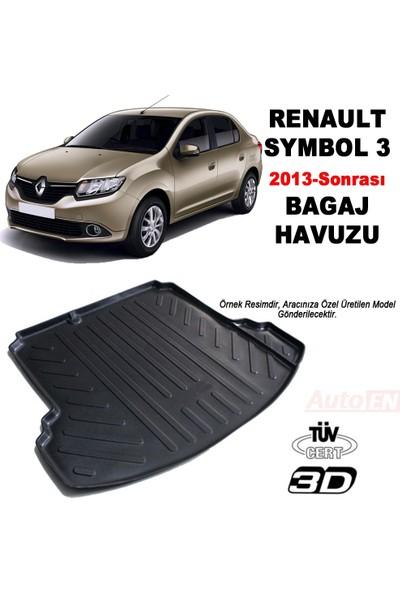 AutoEN Renault Symbol 3 3D Bagaj Havuzu 2013 ve üzeri