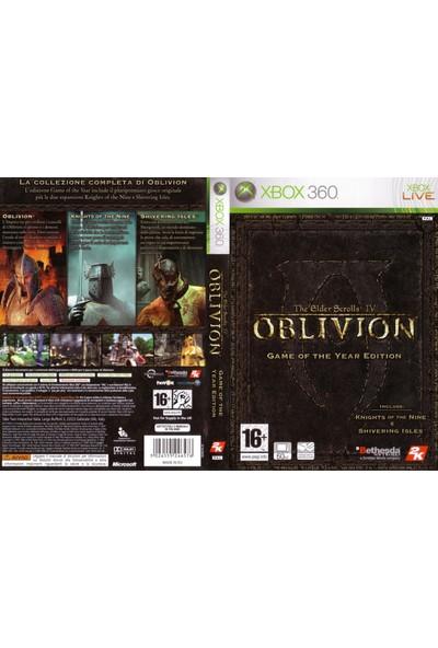 Oblivion The Elder Scrolls Iv Goty Xbox 360