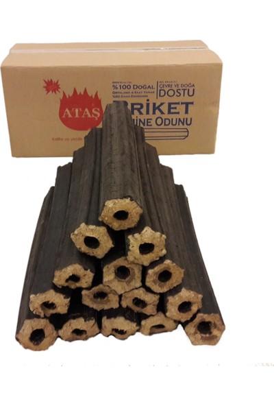 Ataş Briket Şömine Odunu 20 Kg
