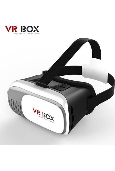 Pratik 3D VR Box 2 Google Cardboard Sanal Gerçeklik Gözlüğü