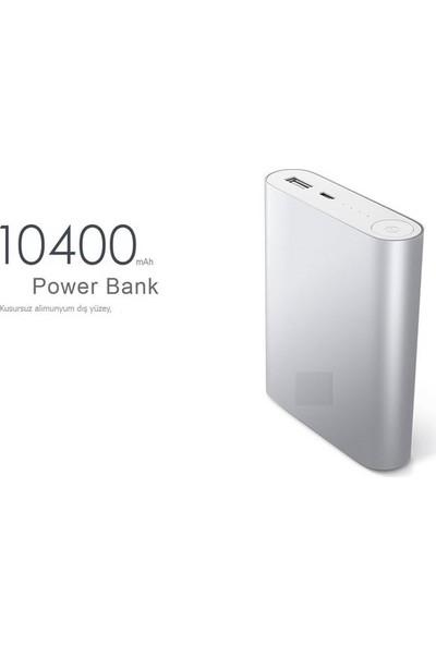 Pratik Power Bank Taşınabilir Şarj Cihazı (10400 mAh)