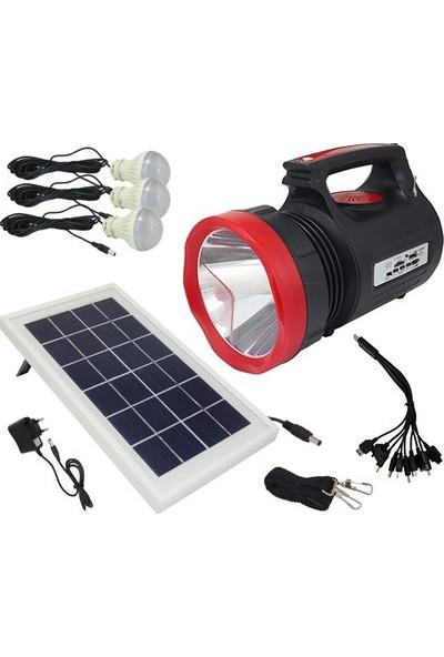 Everton Rt-906 Radyolu 3 Ampullü Çok Amaçlı Solar Fener