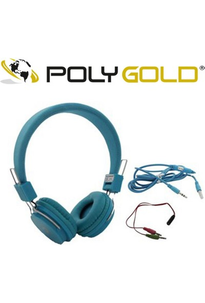 Polygold Mikrofonlu Kulaklık