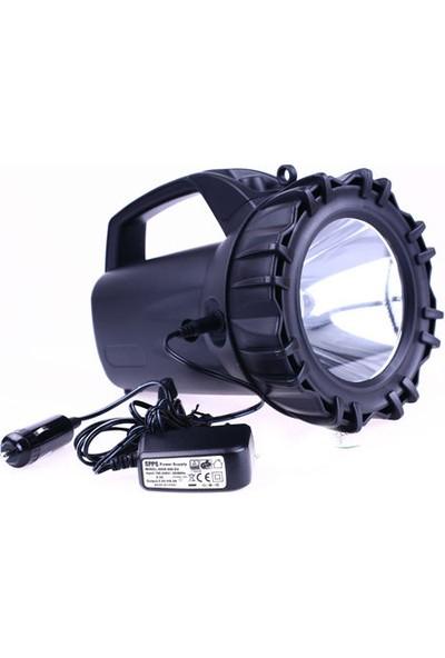 Watton Blackwatton Wt-400 Şarjlı 50 W Projektör