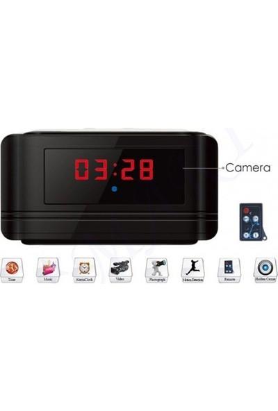 Mytech Full Hd Masa Saati Kamera 12 Saat Kayıt