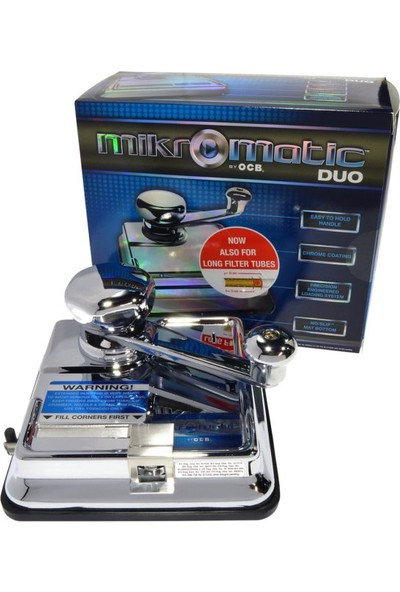 Ocb Sigara Sarma Makinası Çelik Ocb Micro Matic Duo