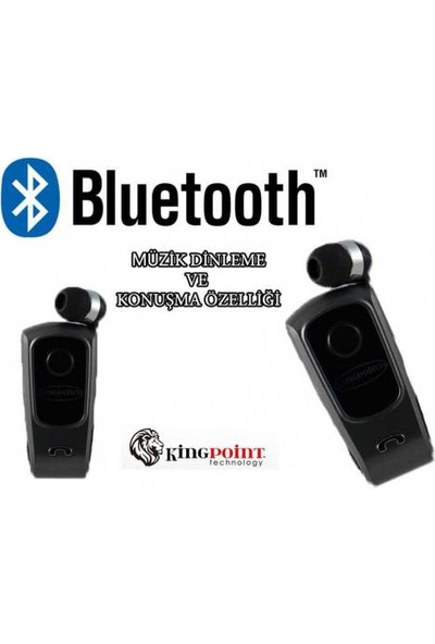 Mytech Bluetooth Makaralı Kulaklık Mp3 Kingpoint