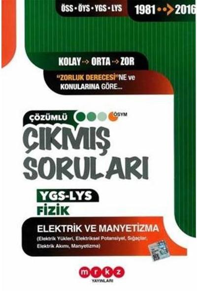 Merkez Yayınları Ygs-Lys Fizik (Elektrik Ve Manyetizma)