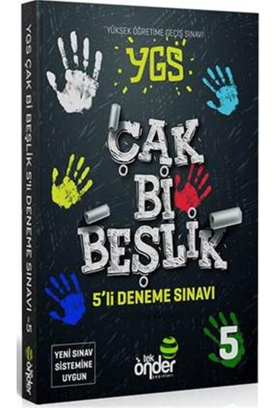 Tek Önder Yayınları Ygs Çak Bi Beşlik 5 Li Deneme Sınavı