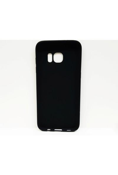 Syrox Samsung Galaxy S7 Edge Siyah Silikon Kılıf