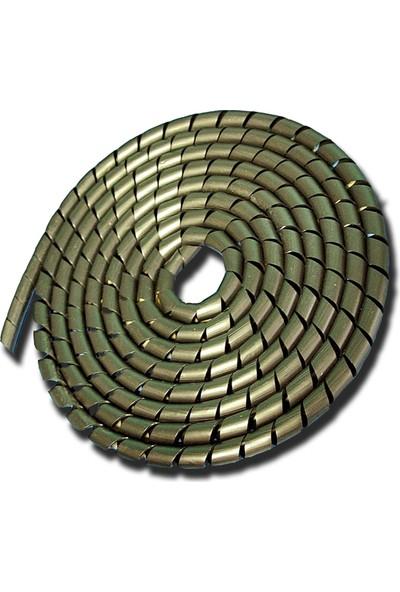 Sumergroup Kablo Düzenleyici Koruyucu Spiral No: 6 - 20 Mm Rulo Siyah 50 Mt