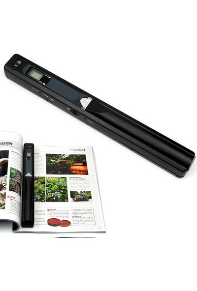 İscan Renkli Mini Taşınabilir 900DPI Taşınabilir Tarayıcı Scanner JPG veya PDF