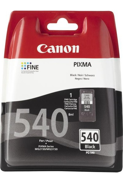 Canon 540 Orjinal Siyah Kartuş