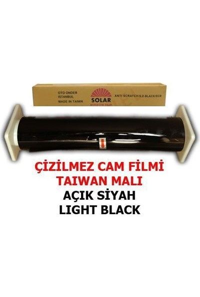 Tvet Cam Filmi Çizilmez %35 Açık Siyah ( Light Black ) 100Cm * 60M