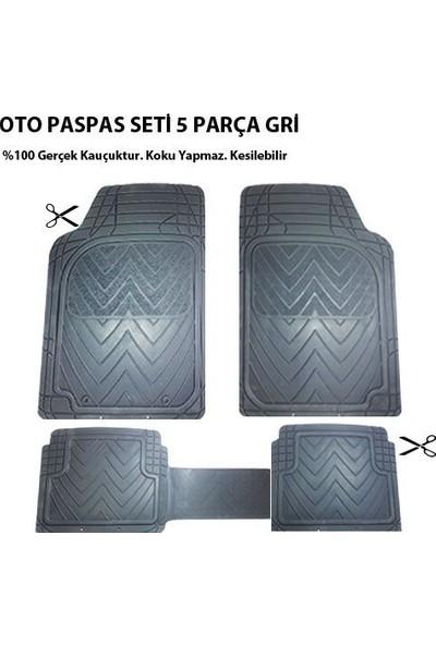 Tvet Fiat Linea İçin Oto Paspas Seti Plus Gri