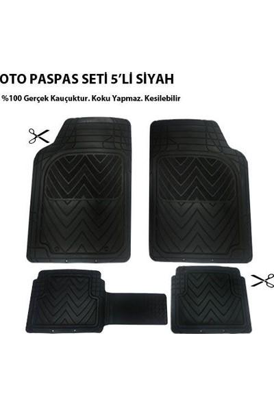 Tvet Ford Galaxy İçin Oto Paspas Seti Plus Siyah