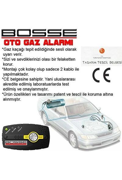 Tvet Oto Gaz Alarmı Bosse Araç Lpg Alarm Cihazı