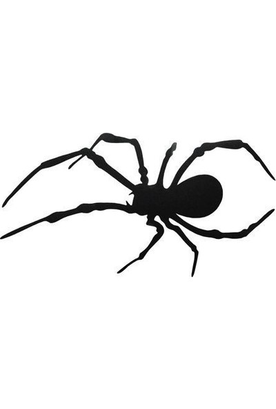 Tvet Örümcek Araba Oto Sticker ( 6,5Cm * 12,5Cm )