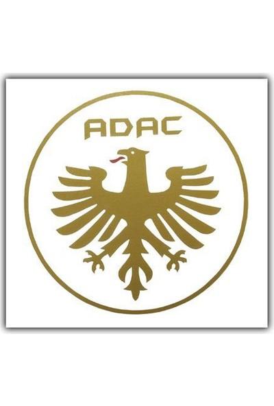 Tvet Adac Arma Araba Oto Sticker (8Cm Çap)
