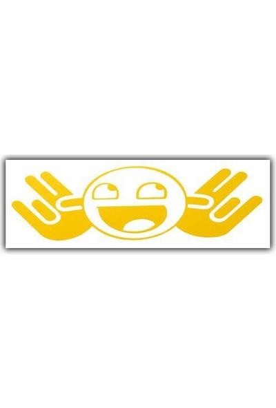 Tvet Jdm Surat Yazı Araba Oto Sticker ( 5Cm * 14Cm )