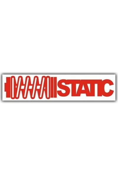 Tvet Static Araba Oto Sticker ( 4Cm * 18Cm)