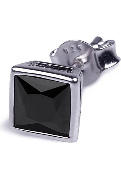 Ejoya Gümüş Erkek Küpesi 6 X 6 Mm 73931