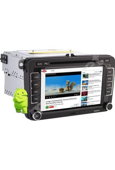 Tvet Amarok 2012 Android Navigasyon Dvd Teyp Double Multimedya