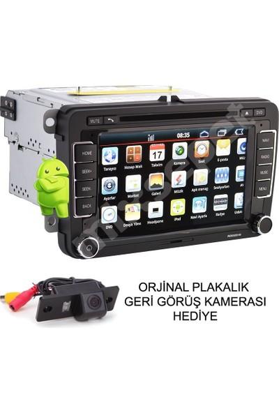 Tvet Passat 2011 Android Navigasyon Dvd Teyp Double Multimedya