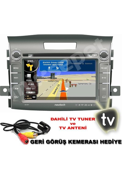 Tvet Navitech Nx-254Y Honda Yeni Crv Dvd Navigasyonlu Multimedya Oem-Fit