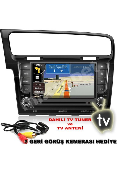 Tvet Navitech Nx-233 R Volkswagen Golf Navigasyon Ve Multimedya Sistemi
