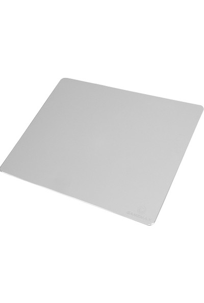 Gamemax FMP-G885A Alüminyum Mouse Pad (30x24x0.15cm) Gümüş