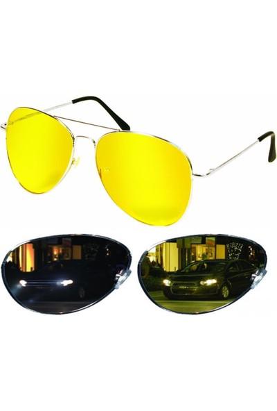 ModaCar Metal Çerçeve Gece Sürüş ve Sis Gözlüğü 422550