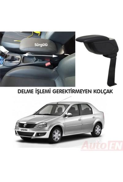 AutoEN Dacia Logan Sedan 2004-2012 Kol Dayama Kolçak Siyah Delme Yok!