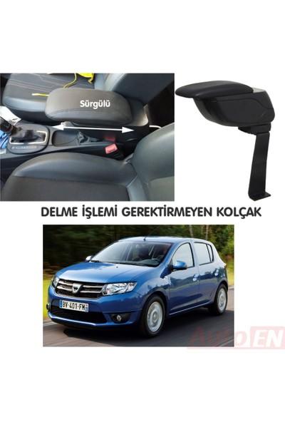 AutoEN Dacia Sandero 2013 ve Sonrası Kol Dayama Kolçak Siyah Delme Yok!