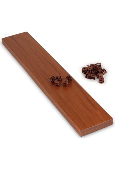 Şablon Minifix (Sapelli, Huş, Bambu) & Pim & Dübel Set 50 Takım