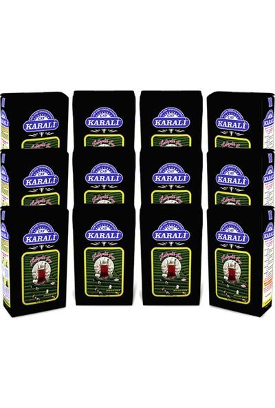 Karali Çay Karali Hediyelik Çay 1Kgx12 Adet