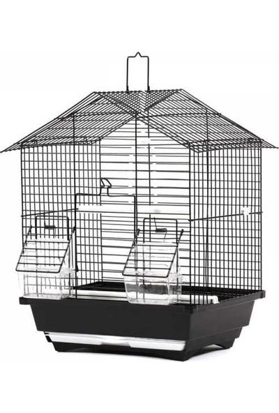 Fit Fly 101B Kuş Kafesi Boyalı (Çatılı)
