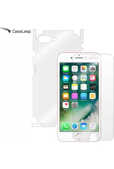 Case Leap iPhone 6 Plus Full Body Tam Kaplama Koruyucu Film 360 Full Cover