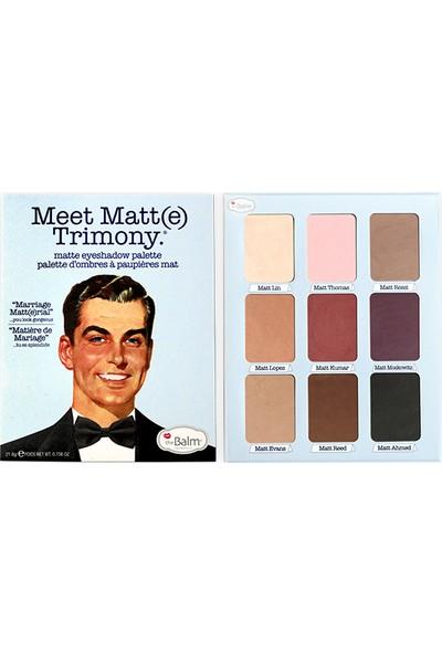 The Balm Meet Matte Trimony