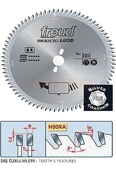 Freud Lu3D0400 250*3,2*80 Trapez Sessiz Testere