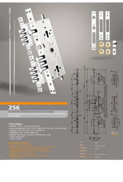 Kale 256 G Multi Sistem Çelik Kapı Kilidi