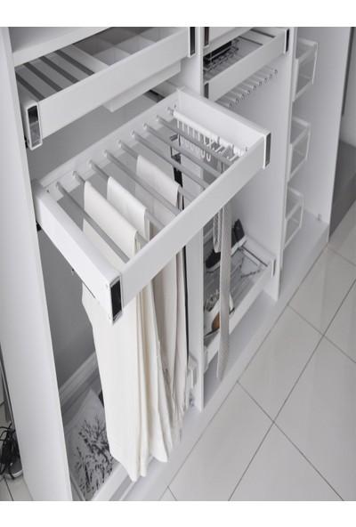Starax 6709 Beyaz Alüminyum Pantolonluk 80 cm